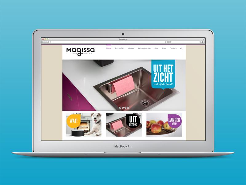 Website Magisso Benelux